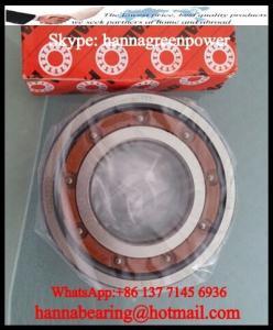 China 6200TB.P63 Polyamide Cage Deep Groove Ball Bearing 10x30x9mm on sale