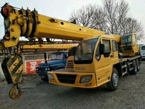 China 230hp XCMG Used Crane Truck 16t Lifting Capacity With Excellent Lifting Performance on sale