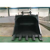 Heavy Duty Excavator Rock Bucket For Digging Coal Mine / Hard Soil 1-8m3 Capacity