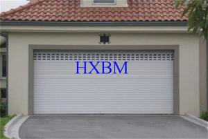 China European Standard Aluminium Garage Doors Sound Proof And Insulated Polyester Material on sale
