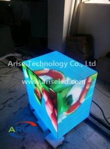 China LED DJ booths/Creative LED Displays DJ Booth/LED DJ Booth Facade/ Six Faces LED Cube Video Wall P3 P4 P5 P6 on sale