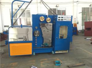China 15KW High Speed Wire Drawing Machine , Copper Wire Making Machine With Annealer on sale