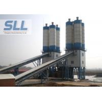 High Layout Flexibility Compact Concrete Batching Plant With Electric Pulse De Duster