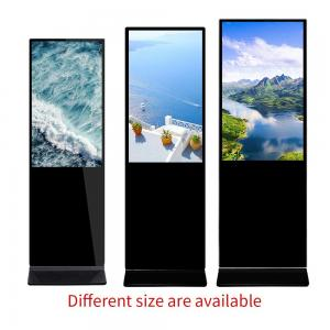 China I3 49 Inch Indoor Digital Signage / Hotel Lobby Digital Signage Kiosk on sale