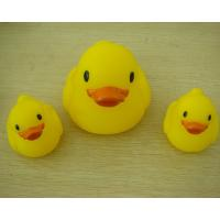 Small Baby Shower Rubber Duck Family Bath Set, Floatable Promotional Rubber Ducks
