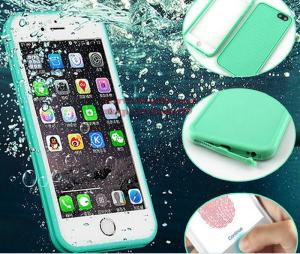 China Luxury 360 Degree Soft Silicone Waterproof Cases for iPhone 6 Case 5 5s 6 7 Plus Cover for iPhone 7 Case TPU Front Back on sale