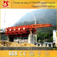 900 tonnes de poutre de lanceur de portique d