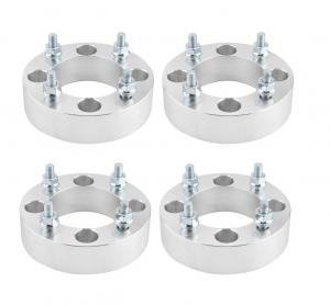China 2 Inch 4x110 Atv Wheel Spacers CNC Machined Polished With 10x1.25 Studs on sale
