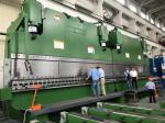 Large Mechanical Press Brake Machine Duplex Synchronized 800T / 7000