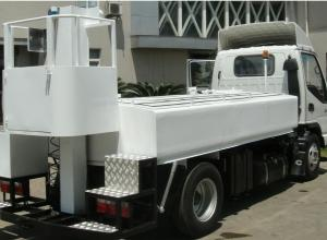 China Low Emissions Sewage Suction Truck Euro 3 Standard 0.25 - 0.35 MPa Pressure on sale