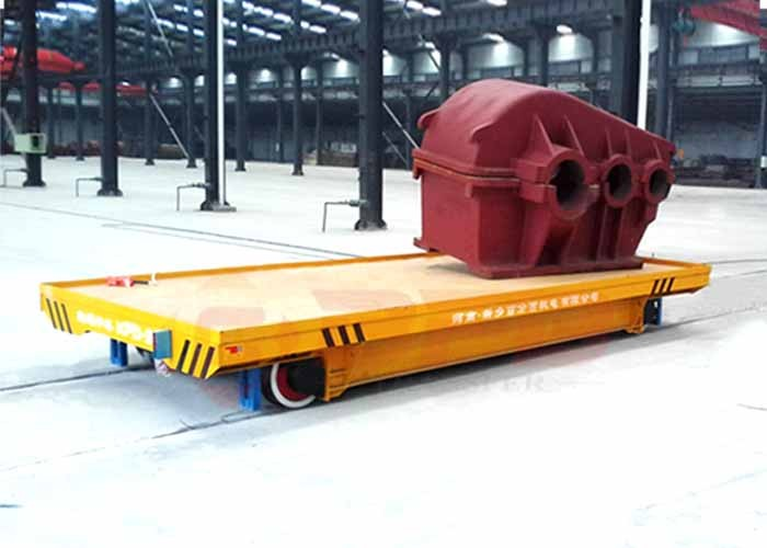 battery operated rail transfer cart