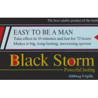 Black Storm 8000mg Sex Enhancement Pills With 3 Years Shelf Time
