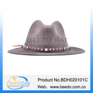 1206ea3446c Fashion wool felt flat brim cowboy hats for adults for sale – cowboy ...