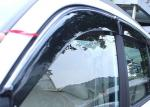 Deflectores de Viento para Chery Tiggo3 2014 2016 Viseras de Ventana de Automóvil con Trim Stripe