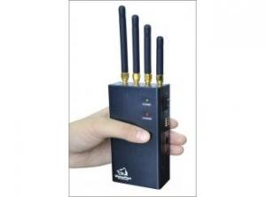 China Mini Protable Bluetooth / Wireless /Camera Audio/wireless recording Signal Jammer WiFi: 2400-2500MHz on sale