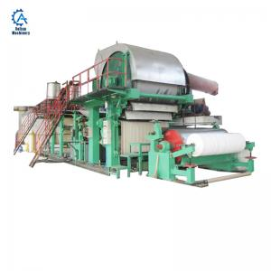 China Waste Ppaper Recycling 1092 Model Toilet Paper Machine Small Toilet Paper Making Machine on sale