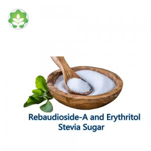 China sugar substitute erythritol with stevia blend sugar food and medicine natural sugar free flavoring agents on sale