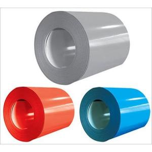 China PPGI PPGL Painted Aluminum Sheet Metal Coil For Roofing Cladding / Outside Walls on sale
