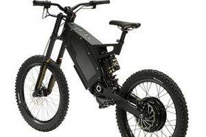 China 8000 Watt Fat Stealth Bomber Electric Bike 80km / H Range 100km With Gps on sale