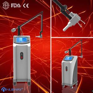 China RF CO2 Fractional Laser Beauty Machine/Fractional Laser CO2 Burn Debridement Treatment on sale