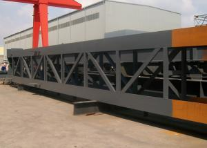 Quality Large Span Heavy Architectural Structural Steel Portal Frame With Bridge Crane for sale