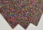 Party Decoration Thick Glitter Paper , Sparkle Handcraft Glitter Paper Craft