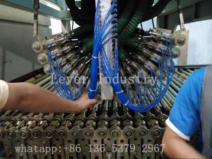 China LV-TB-L Series Bending Glass Tempering Furnace for Automobile Sidelites glass on sale