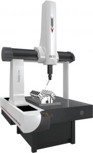 China High Accuracy CMM Measuring Machine , 3D Vision Inspection Equipment 800Kg on sale