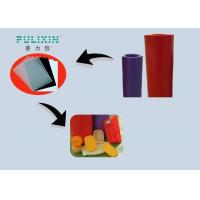 China Rollo rojo/púrpura de la hoja del polietileno de los PP de la baja densidad para el acondicionamiento de los alimentos plástico on sale