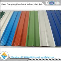 5052 1.2mm Corrugated Roof Panels / Wave Tile Aluminum Plate For Construction