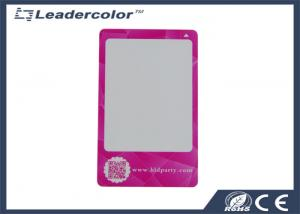 China CR80 Size Rewritable RFID Plastic Cards QR Code Offset 4 Color Printing on sale