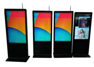 China Full Hd Floor Standing LCD Advertising Display 1080P 43 Inch Energy Saving on sale