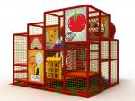 Daycare Soft Indoor Playground Equipment Safety With Big Spiral Slide And Ball Pit