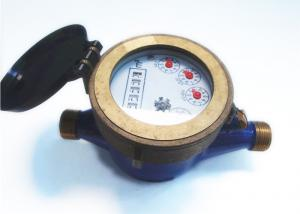 Quality House Horizontal Piston Water Meter Brass ISO4064 Class B for sale