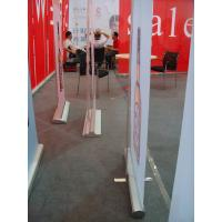 China Wide Base Roll Up Banner Stand,Flex Banner Stand,Retractable Banner Stand on sale