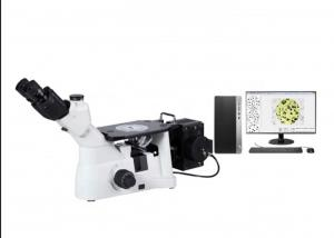 China KE5000 Trinocular Inverted Metallographic Microscope + computer + software  / metal material microscope on sale