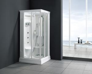 China Monalisa M-8227 steam bath shower enclosure shower cabin with steam and shower room Western style intelligent steam room on sale