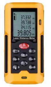 China 8 / 40mm White Ultrasonic Laser Distance Meter Waterproof Digital on sale