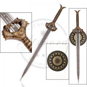 China 30.3 DC Comic Movie Props Wonder Woman GodKiller Sword Zinc Alloy Handle on sale
