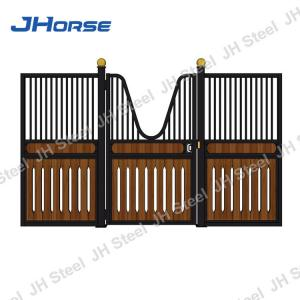 China Farms Horse Stable Sheets Stall Door Latches With Galvanized Steel Frame on sale