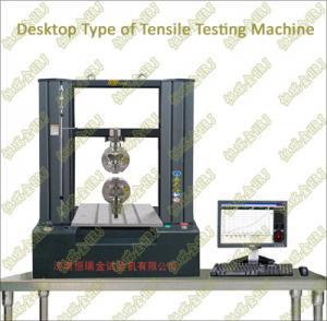 China Computer Control Electronic Tensile Testing Machine(desktop) on sale