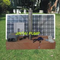 Solar Panel Water Pump Kits Stainless SteelSubmersible Pump 180W JS3-1.8-60