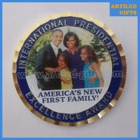 International presidential excellence award gold coin of Americas first family Obama