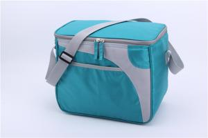 China Green 600D Polyester Small Insulated Lunch Bag  Measured 30.5 * 20.5 * 28cm on sale