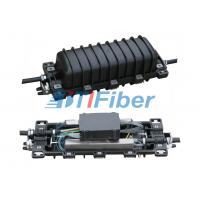 China 2 Input And 2 Output , In Line Outdoor Fiber Splice Enclosure With 12 Fiber Splice Tray on sale