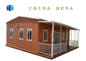 China Large Space Sandwich Panel Prefab House Modular Home 100 Square Meters on sale