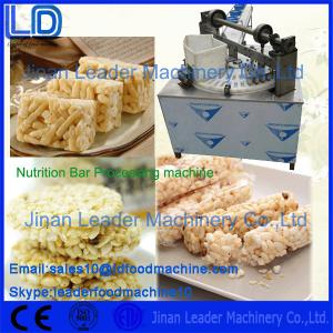 China 304 Stainless Steel Automatic Nutrition Bar Product machinery made in China on sale