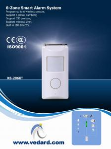 China Wireless smart alarm system (3-in-1) | burglar alarms | intrusion detection | Built in PIR detector on sale