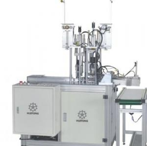 China Disposable Mask Ear Loop Welding Machine , Welding Sealing Mask Making Machine on sale