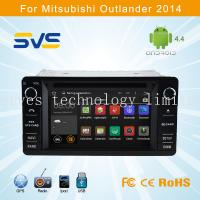 China Android car dvd player GPS navigation for Mitsubishi Outlander 2013-2016 touch screen 2din on sale